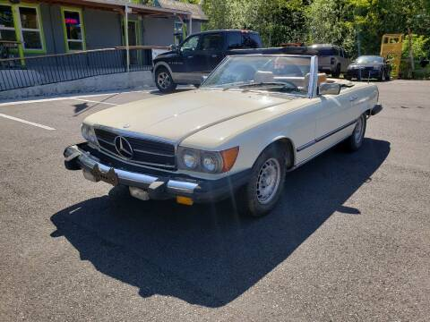 1981 Mercedes-Benz 380-Class for sale at HIGHLAND AUTO in Renton WA
