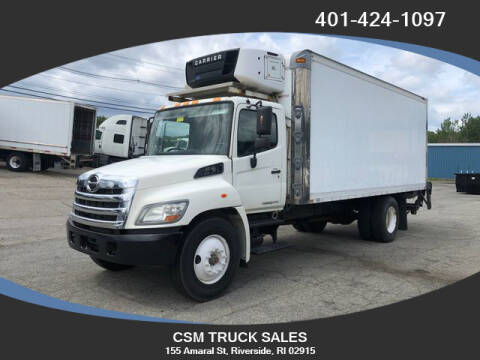 2012 Hino 268 for sale at CSM TRUCK SALES in Riverside RI