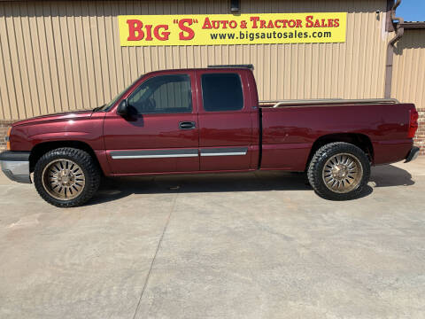 2003 Chevrolet Silverado 1500 for sale at BIG 'S' AUTO & TRACTOR SALES in Blanchard OK