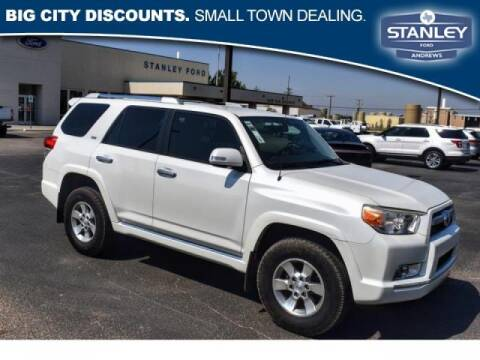 2013 Toyota 4Runner for sale at STANLEY FORD ANDREWS in Andrews TX