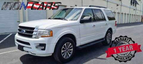 2017 Ford Expedition for sale at IRON CARS in Hollywood FL