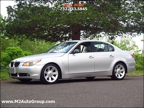 2007 BMW 5 Series for sale at M2 Auto Group Llc. EAST BRUNSWICK in East Brunswick NJ