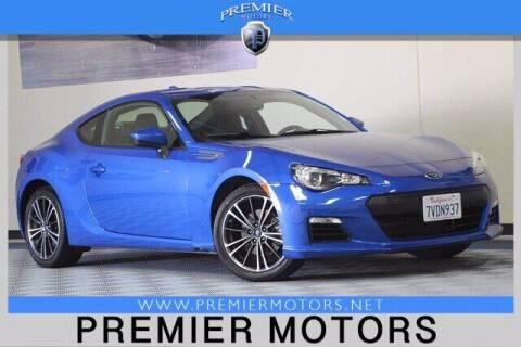 2016 Subaru BRZ for sale at Premier Motors in Hayward CA