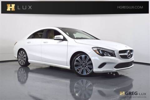2018 Mercedes-Benz CLA for sale at HGREG LUX EXCLUSIVE MOTORCARS in Pompano Beach FL