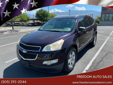 2009 Chevrolet Traverse for sale at Freedom Auto Sales in Albuquerque NM