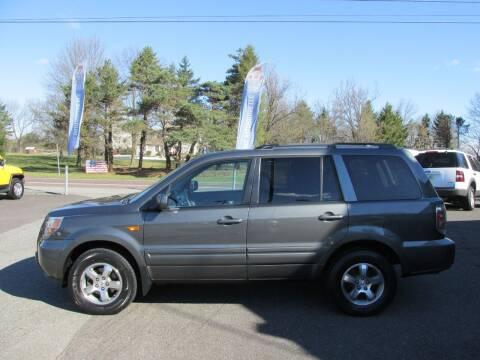 2007 Honda Pilot for sale at GEG Automotive in Gilbertsville PA