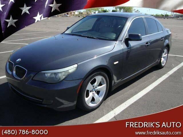 2008 BMW 5 Series for sale at FREDRIK'S AUTO in Mesa AZ