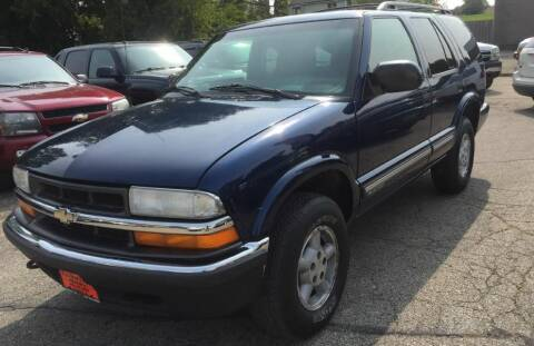 2000 Chevrolet Blazer for sale at Knowlton Motors, Inc. in Freeport IL