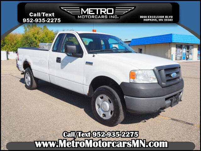 2008 Ford F-150 for sale at Metro Motorcars Inc in Hopkins MN