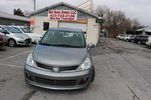 2012 Nissan Versa for sale at SAI Auto Sales - Used Cars in Johnson City TN