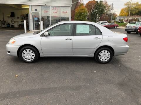 2007 Toyota Corolla for sale at J&J Car and Truck Sales in North Canton OH