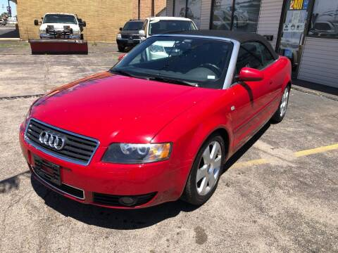 2004 Audi A4 for sale at TOP YIN MOTORS in Mount Prospect IL