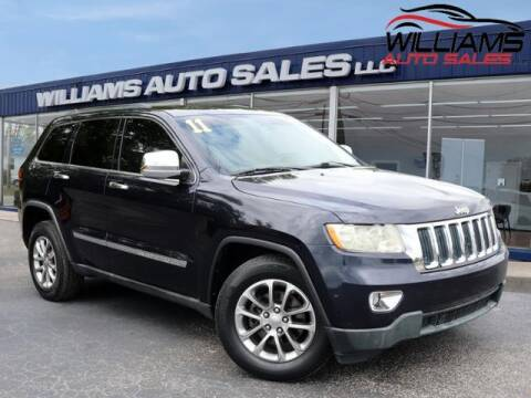 2011 Jeep Grand Cherokee for sale at Williams Auto Sales, LLC in Cookeville TN