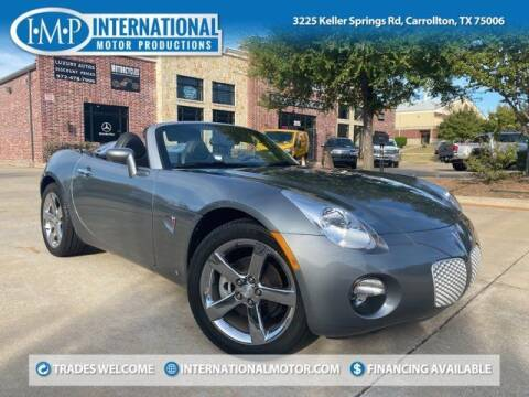 2007 Pontiac Solstice for sale at International Motor Productions in Carrollton TX