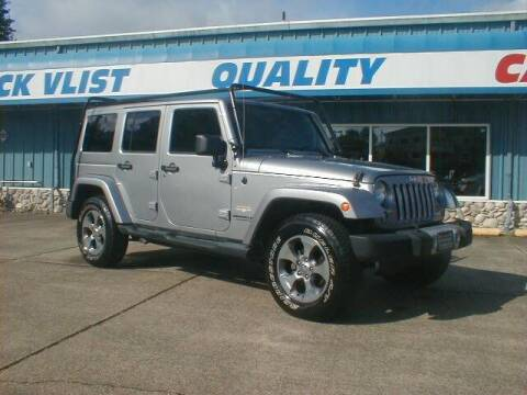 2014 Jeep Wrangler Unlimited for sale at Dick Vlist Motors, Inc. in Port Orchard WA