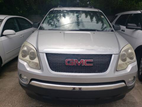 2011 GMC Acadia for sale at Track One Auto Sales in Orlando FL