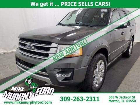 2016 Ford Expedition for sale at Mike Murphy Ford in Morton IL