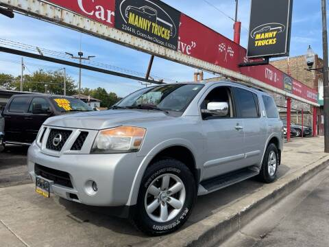 2010 Nissan Armada for sale at Manny Trucks in Chicago IL