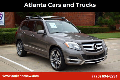 2015 Mercedes-Benz GLK for sale at Atlanta Cars and Trucks in Kennesaw GA