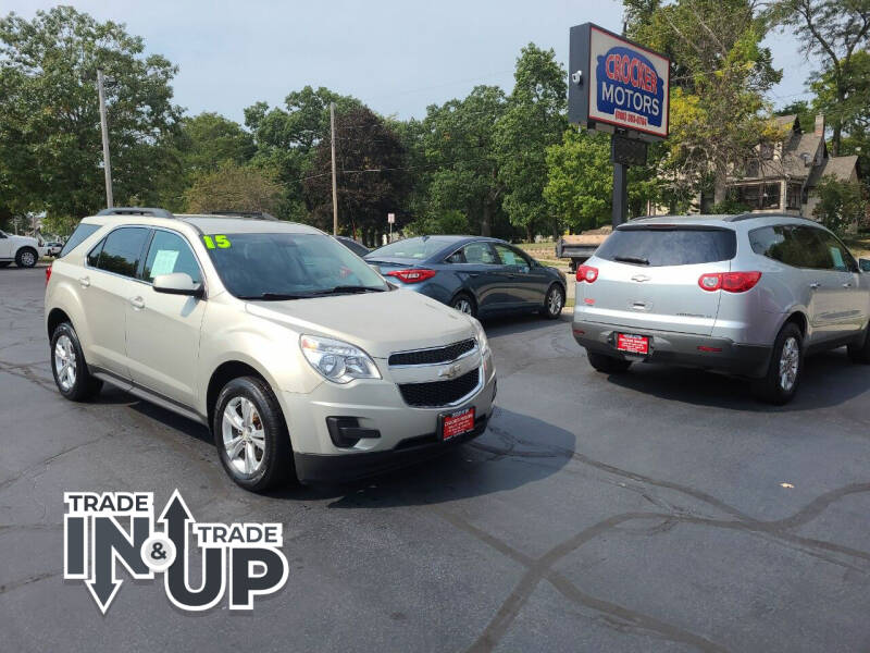 2015 Chevrolet Equinox for sale at Crocker Motors in Beloit WI