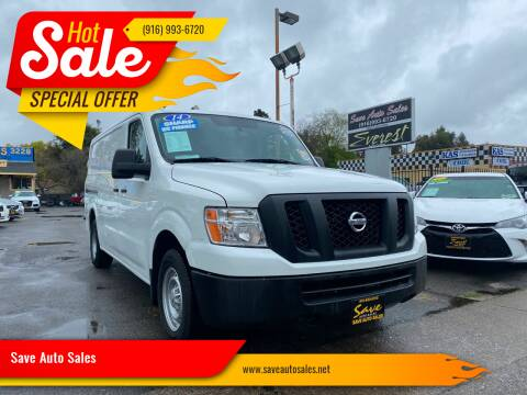 2014 Nissan NV Cargo for sale at Save Auto Sales in Sacramento CA