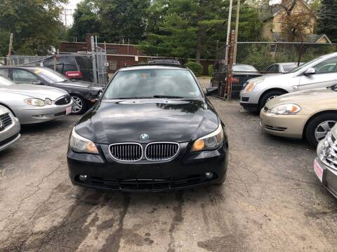 2006 BMW 5 Series for sale at Six Brothers Auto Sales in Youngstown OH