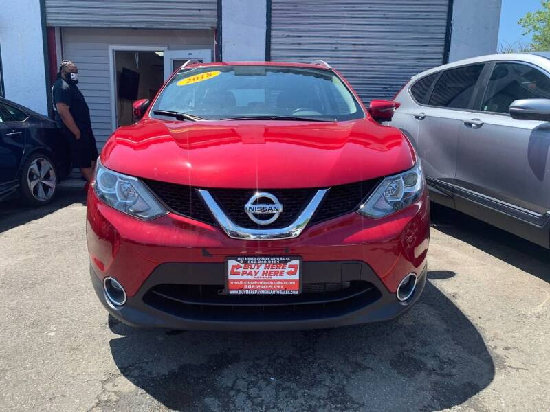 2018 Nissan Rogue Sport for sale at Buy Here Pay Here Auto Sales in Newark NJ