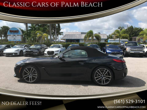 2020 BMW Z4 for sale at Classic Cars of Palm Beach in Jupiter FL