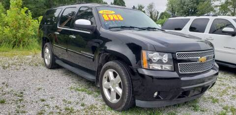 2007 Chevrolet Suburban for sale at COOPER AUTO SALES in Oneida TN