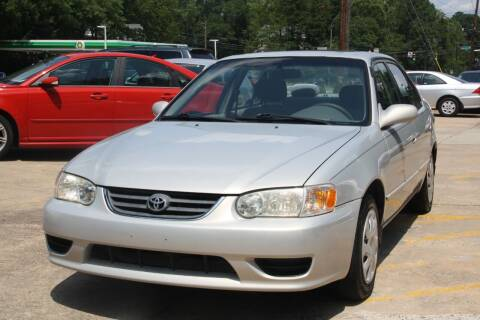 2001 Toyota Corolla for sale at GTI Auto Exchange in Durham NC