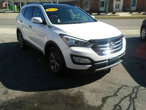 2014 Hyundai Santa Fe Sport for sale at BELLEFONTAINE MOTOR SALES in Bellefontaine OH