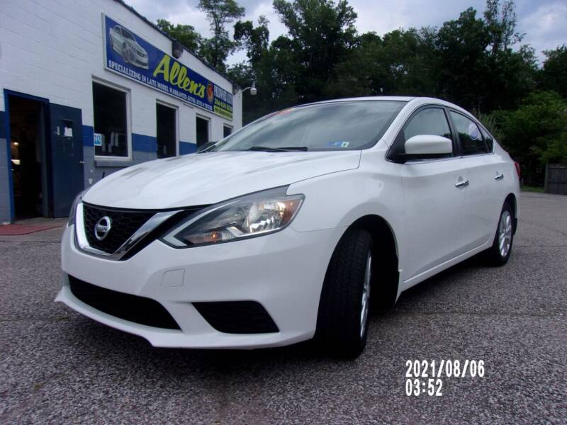 2017 Nissan Sentra for sale at Allen's Pre-Owned Autos in Pennsboro WV