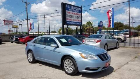 2014 Chrysler 200 for sale at S.A. BROADWAY MOTORS INC in San Antonio TX