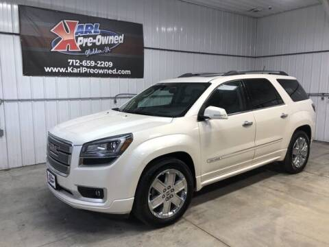2014 GMC Acadia for sale at Karl Pre-Owned in Glidden IA