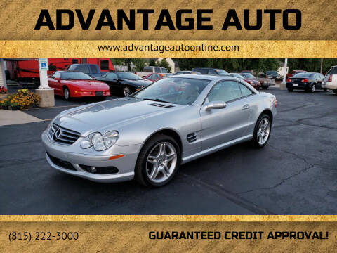 2006 Mercedes-Benz SL-Class for sale at Advantage Auto Sales & Imports Inc in Loves Park IL