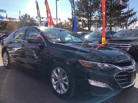 2019 Chevrolet Malibu for sale at Duke City Auto LLC in Gallup NM
