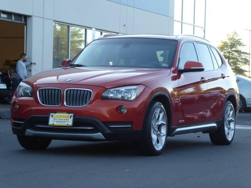 2013 BMW X1 for sale at Loudoun Used Cars - LOUDOUN MOTOR CARS in Chantilly VA