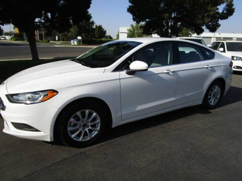 2017 Ford Fusion for sale at KM MOTOR CARS in Modesto CA