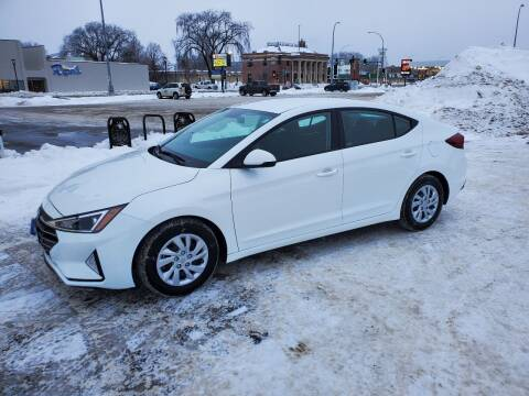 2019 Hyundai Elantra for sale at GOOD NEWS AUTO SALES in Fargo ND