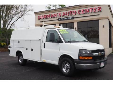2016 Chevrolet Express Cutaway for sale at DORMANS AUTO CENTER OF SEEKONK in Seekonk MA