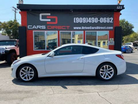2013 Hyundai Genesis Coupe for sale at Cars Direct in Ontario CA
