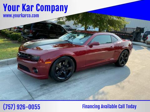 2011 Chevrolet Camaro for sale at Your Kar Company in Norfolk VA