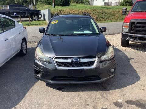 2014 Subaru Impreza for sale at Moose Motors in Morganton NC
