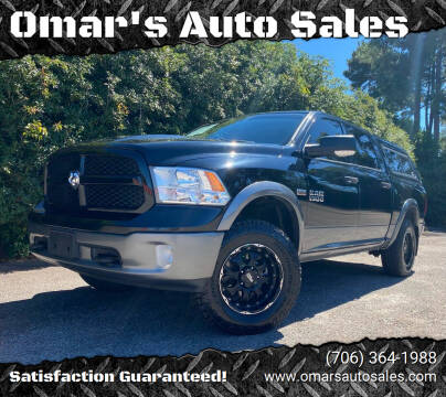2013 RAM Ram Pickup 1500 for sale at Omar's Auto Sales in Martinez GA