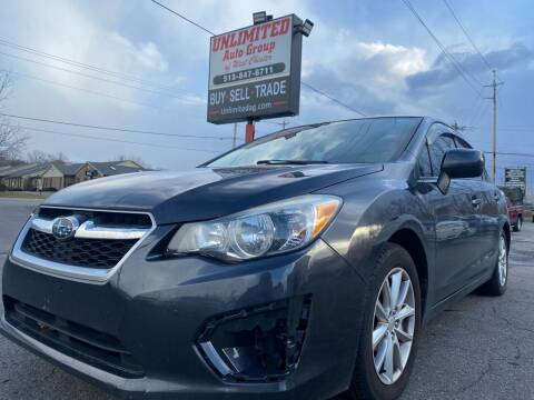 2013 Subaru Impreza for sale at Unlimited Auto Group in West Chester OH