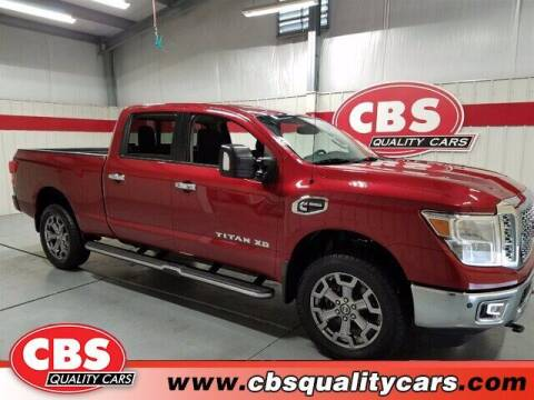 2017 Nissan Titan XD for sale at CBS Quality Cars in Durham NC