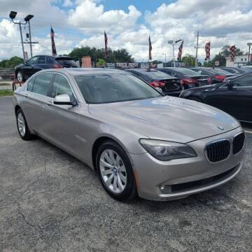 2011 BMW 7 Series for sale at America Auto Wholesale Inc in Miami FL
