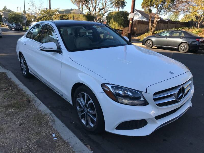 2016 Mercedes-Benz C-Class for sale at Autobahn Auto Sales in Los Angeles CA