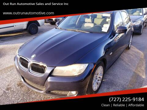 2009 BMW 3 Series for sale at Out Run Automotive Sales and Service Inc in Tampa FL