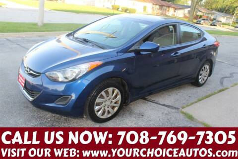 2013 Hyundai Elantra for sale at Your Choice Autos in Posen IL